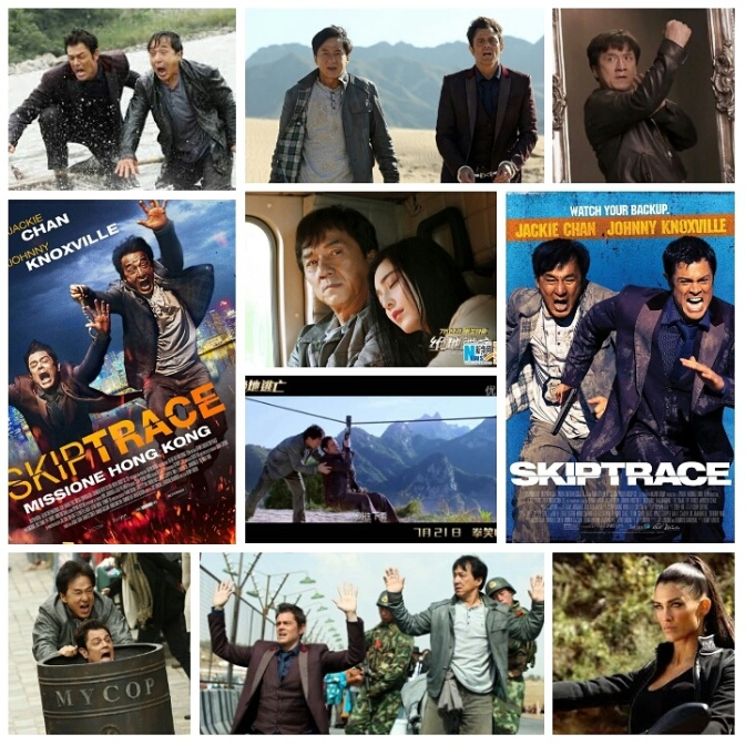 Renny Harlin's Skiptrace: A Review by Nate Hill
