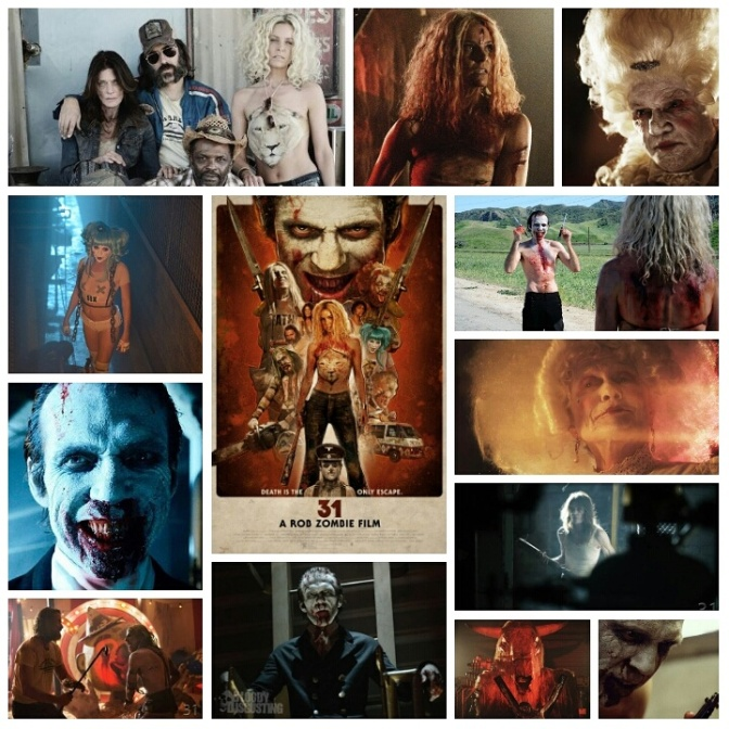 Rob Zombie's 31: A Review by Nate Hill