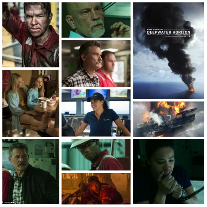Peter Berg's Deepwater Horizon: A Review by Nate Hill