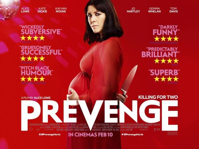 PREVENGE (2016) – A REVIEW BY RYAN MARSHALL