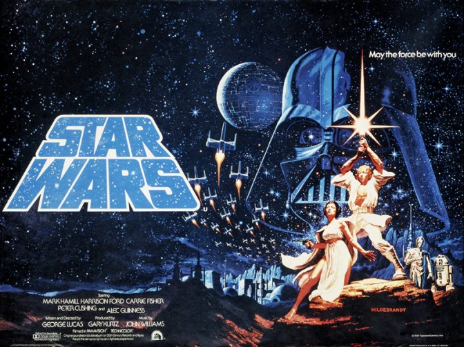 'Hope' spawned an 'Empire':  Celebrating 40 years of 'Star Wars'.