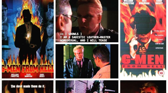 B Movie Glory: G-Men From Hell