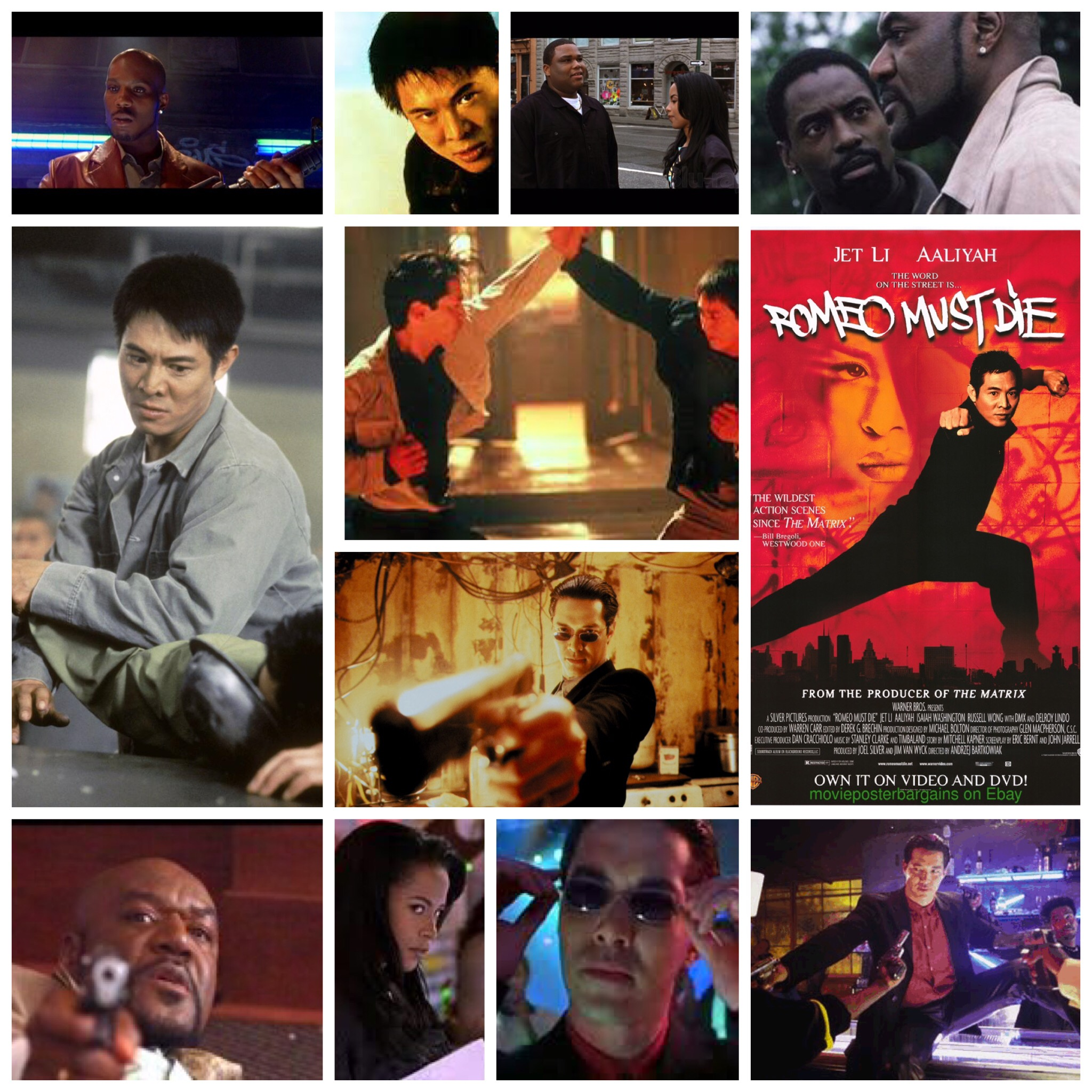 andrzej bartkowiaks romeo must die is not a great flick but i still somehow enjoy it if only for a few stylish scenes and the presence of aaliyah before - Romeo Must Com