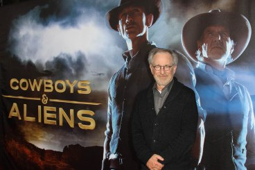 Steven Spielberg at the World Premiere of COWBOYS & ALIENS, July 23, 2011 at the San Diego Civic Theatre, San Diego, California - part of ComicCon Photo Credit Sue Schneider_MGP Agency