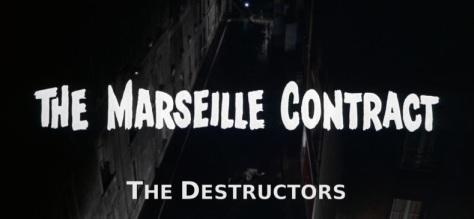 KINO LORBER PRESENTS: ROBERT PARRISH'S THE DESTRUCTORS/THE MARSEILLE