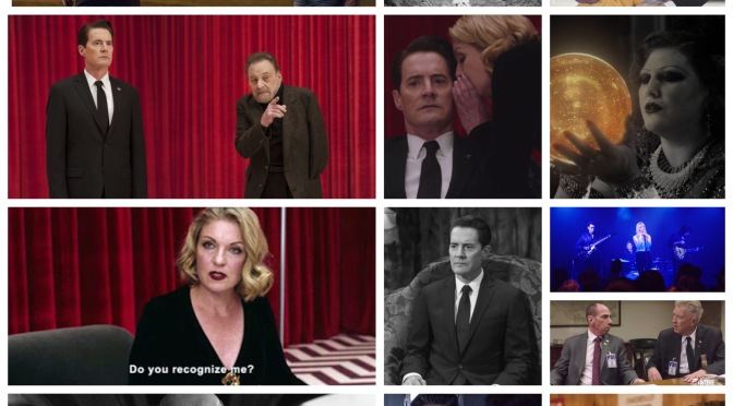 Two Wolves, a snake eating its tail and a secret- A review of Twin Peaks: The Return by Nate Hill