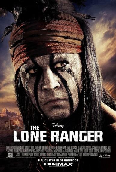 lone ranger depp poster