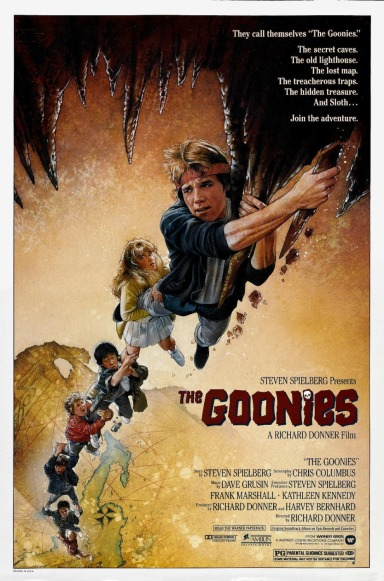 THE-GOONIES-Movie-POSTER-Classic-80-s-Star-Wars-Marvel-Comics-Print-on-Silk-Home-Decoration