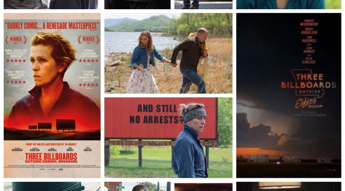 Martin McDonough's Three Billboards Outside Ebbing Missouri