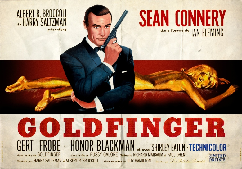 Image result for goldfinger poster