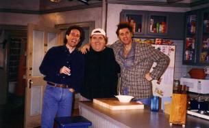 Jerry-Seinfeld-Walter-Olkewicz-and-Michael-Richards-on-the-set-of-Seinfeld