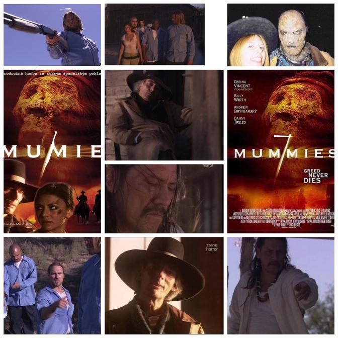 B Movie Glory: Seven Mummies