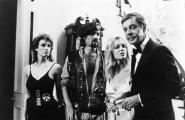 THE RETURN OF SWAMP THING, Heather Locklear (second from right), 1989, (c)Millimeter Films