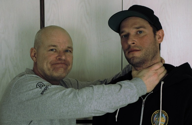 Uwe and Sean