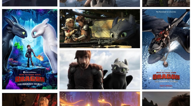 Dreamworks's How To Train Your Dragon: The Hidden World