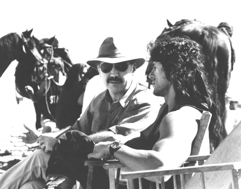 David-with-Sylvester-Stallone-RAMBO-III-Israel