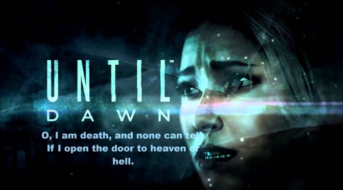 Gaming with Nate: Larry Fessenden's Until Dawn for PlayStation 4