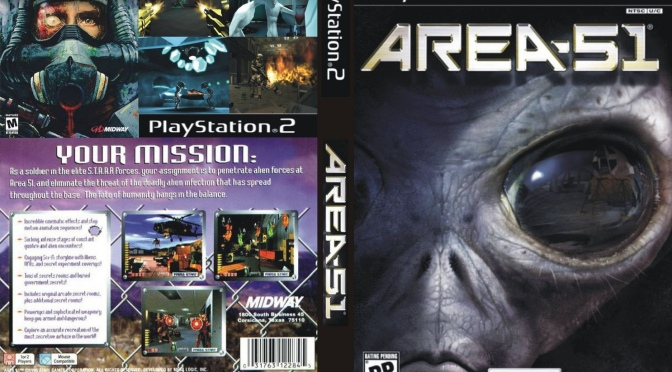 Gaming with Nate: Area 51 for PlayStation 2