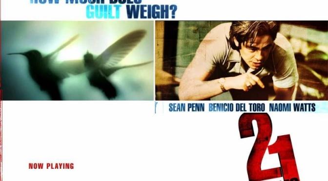 Alejandro Gonzalez Inarritu's 21 Grams